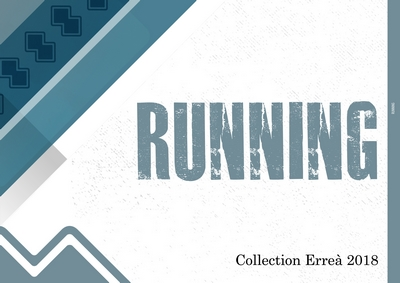 Catalogue running Erreà 2018